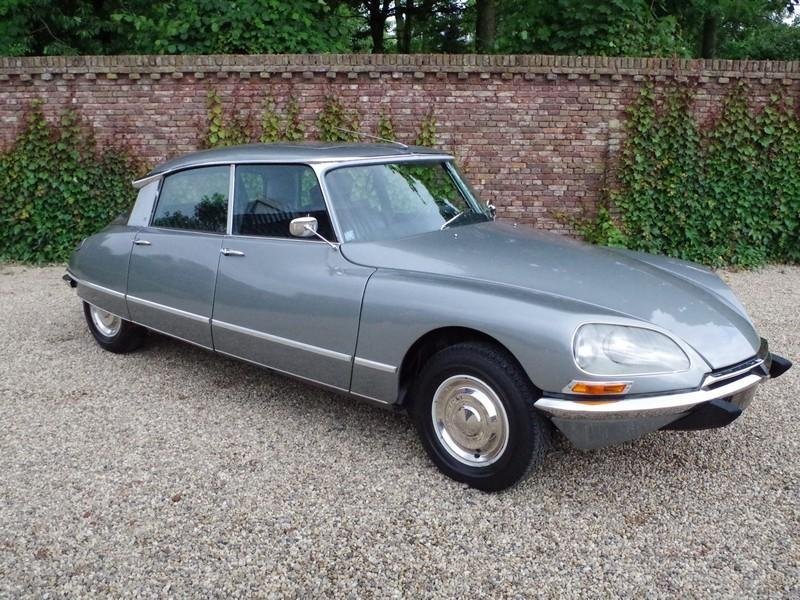 CITROËN DS21 PALLAS INJECTION WITH SUNROOF AND MANUAL GEARBOX! . (1970) #77