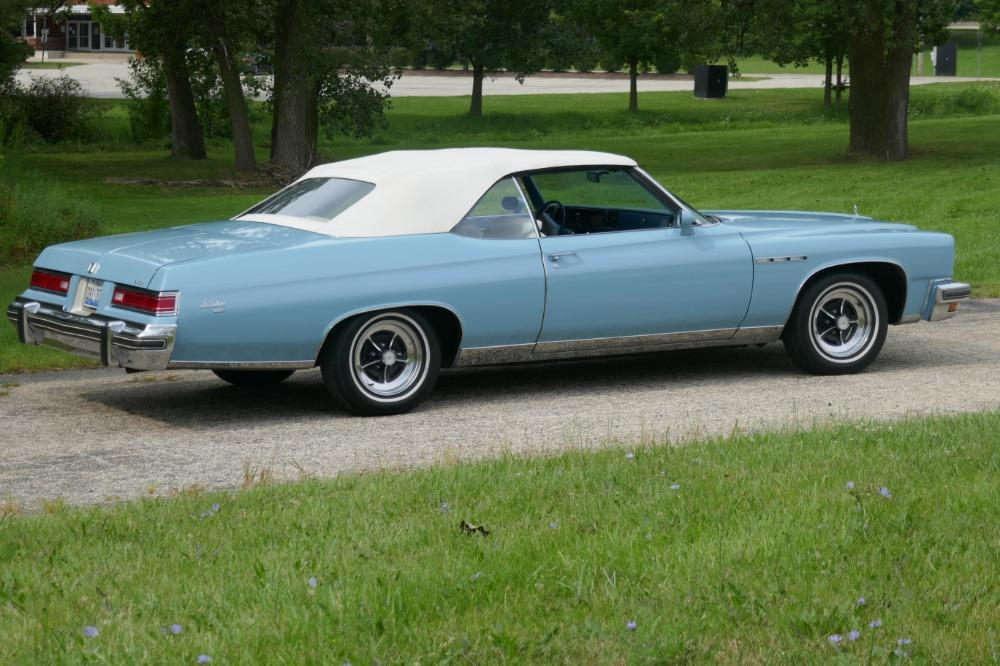 1975 Buick LeSabre -PRICE DROP - CONVERTIBLE -SUPER LOW MILES- NEW PAINT 2017-SEE VIDEO Stock # 75ILKF for sale near Mundelein, IL | IL Buick Dealer #4