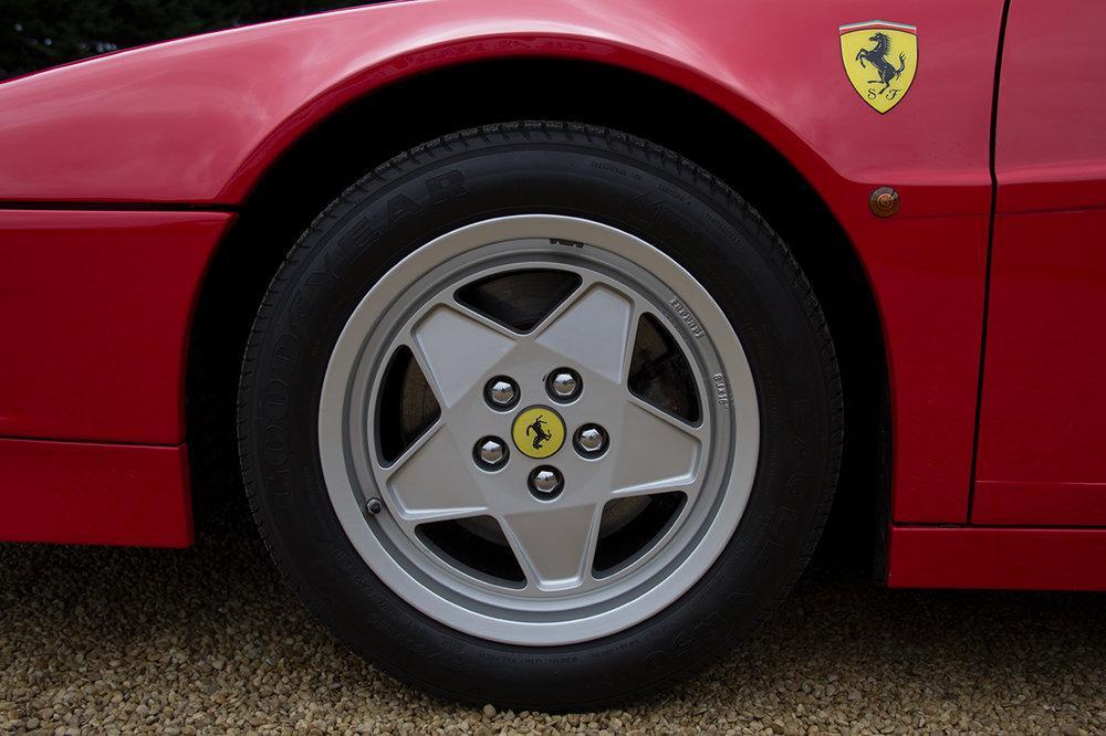 1988 Ferrari Testarossa RHD Rosso Corsa with Blu Scuro #48