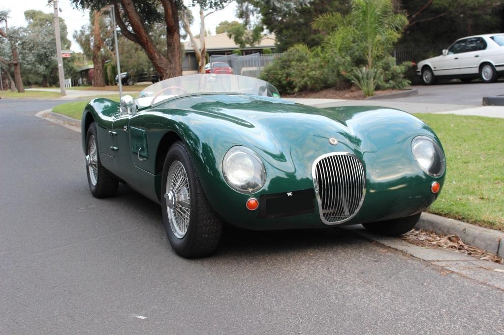 """Jaguar """"C"""" Type replica #1"""