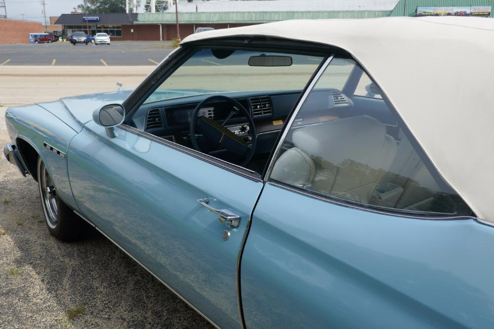 1975 Buick LeSabre -PRICE DROP - CONVERTIBLE -SUPER LOW MILES- NEW PAINT 2017-SEE VIDEO Stock # 75ILKF for sale near Mundelein, IL | IL Buick Dealer #29
