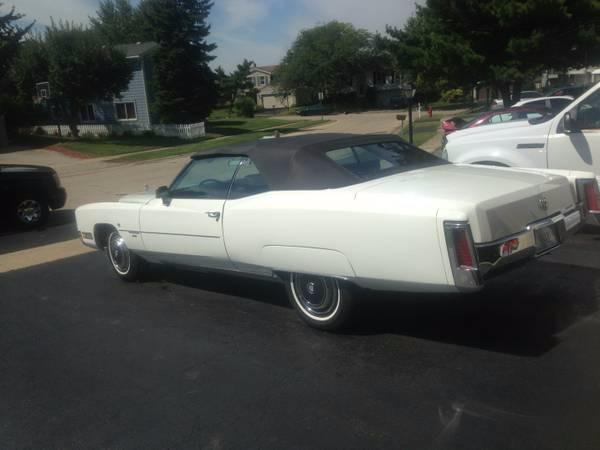 1971 Cadillac El Dorado Classic Caddy Convertible Stock # 18571JSCVO for sale near Mundelein, IL | IL Cadillac Dealer #1