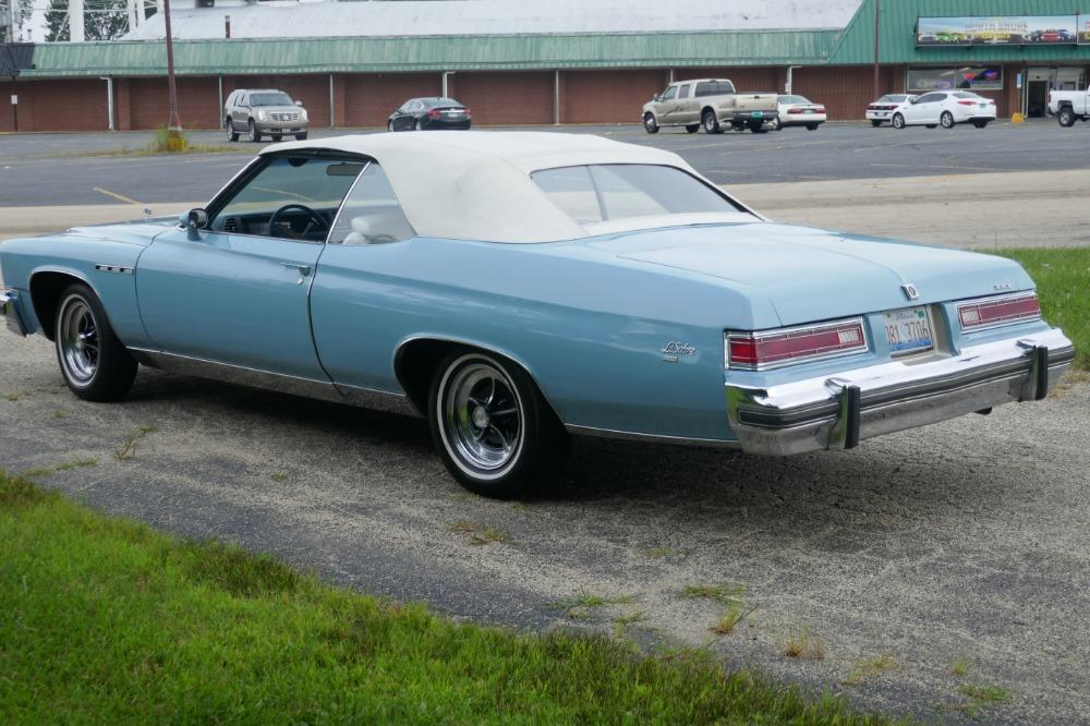 1975 Buick LeSabre -PRICE DROP - CONVERTIBLE -SUPER LOW MILES- NEW PAINT 2017-SEE VIDEO Stock # 75ILKF for sale near Mundelein, IL | IL Buick Dealer #7