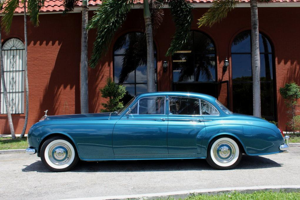 1964 ROLLS-ROYCE SILVER CLOUD III CONTINENTAL JAMES YOUNG SCV100 SPORT SEDAN #LSGT635C ONE OF 2 LEFT DRIVES BUILT #1