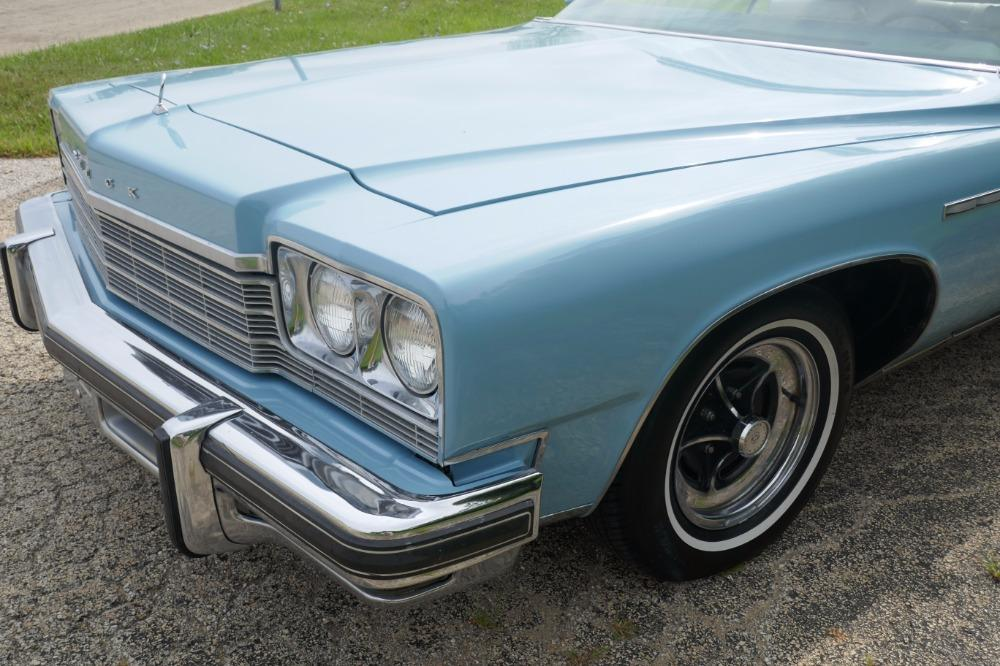 1975 Buick LeSabre -PRICE DROP - CONVERTIBLE -SUPER LOW MILES- NEW PAINT 2017-SEE VIDEO Stock # 75ILKF for sale near Mundelein, IL | IL Buick Dealer #32
