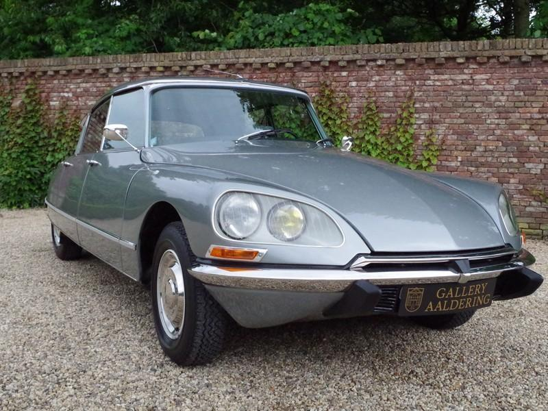 CITROËN DS21 PALLAS INJECTION WITH SUNROOF AND MANUAL GEARBOX! . (1970) #62