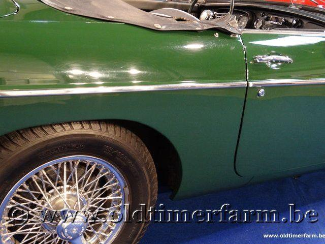 MG B Roadster Green '66 #34