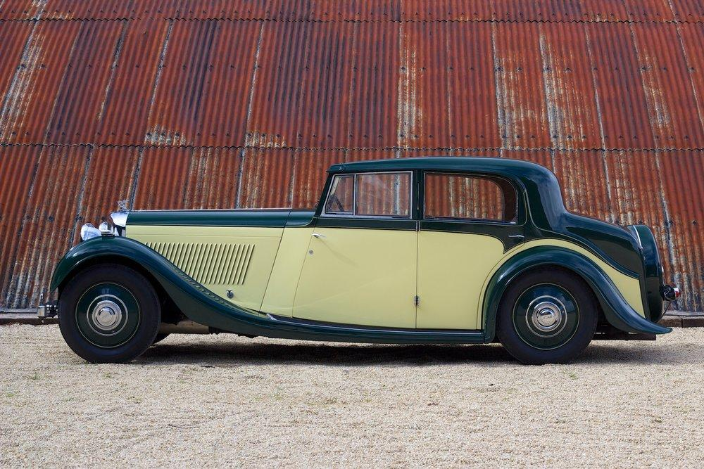 1935 Bentley 3½ Litre Saloon by Freestone & Webb #1