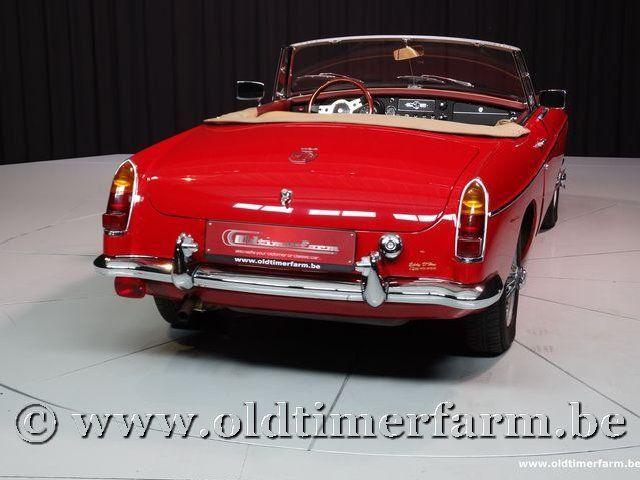 MG B Roadster Red '67 #68