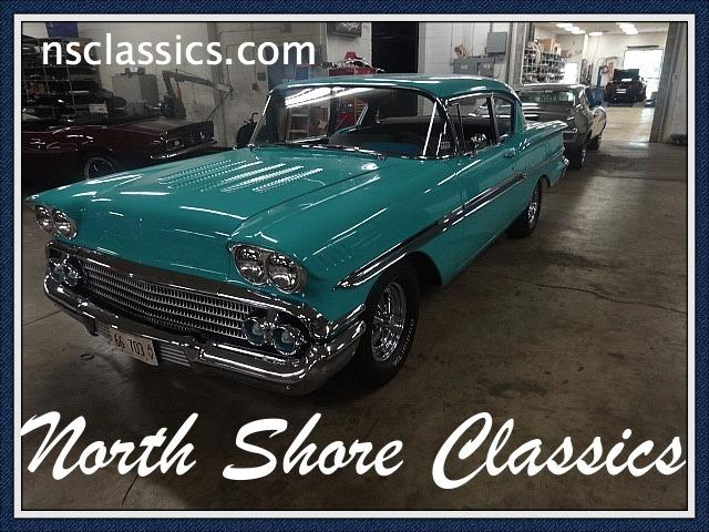 1958 Chevrolet Biscayne -RUNS PERFECTLY- Stock # 58350ILKF for sale near Mundelein, IL | IL Chevrolet Dealer #0