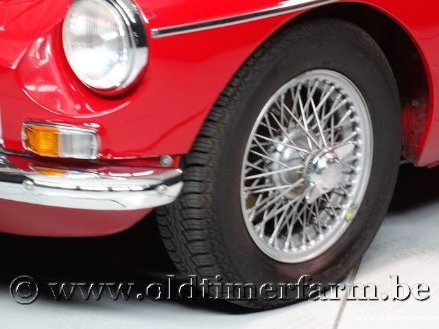 MG B Roadster Red '67 #125