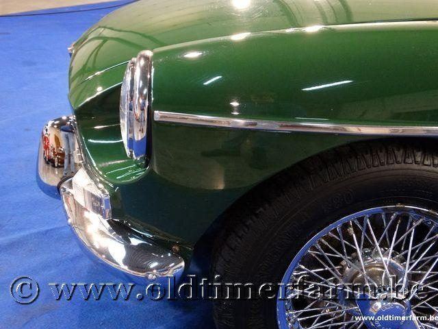 MG B Roadster Green '66 #19