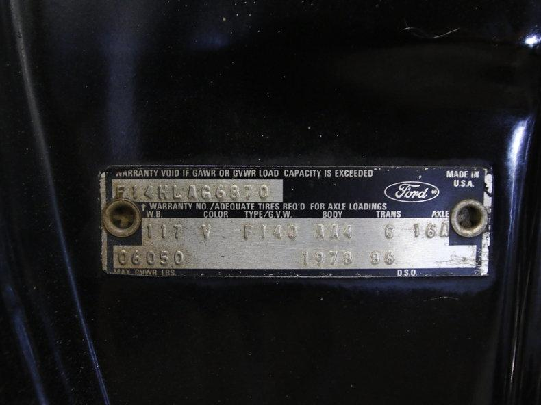 1978 Ford F-150 XLT Lariat 4X4 #52