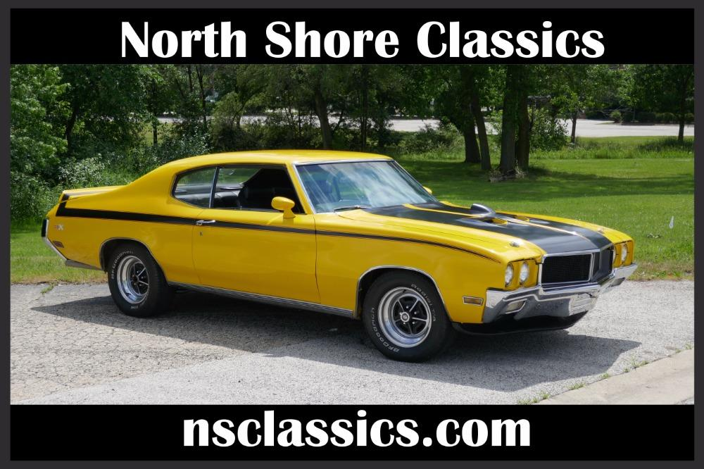 1970 Buick Skylark -GSX-TRIBUTE- 455 BIG BLOCK-BUCKETS/CENTER CONSOLE-SEE VIDEO Stock # 1970KFCV for sale near Mundelein, IL | IL Buick Dealer #0