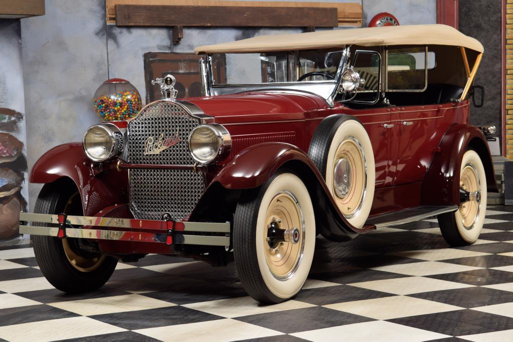 1928 Packard Model 526 Pheaton Top Zustand #0