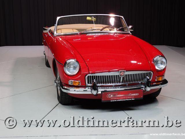 MG B Roadster Red '67 #83