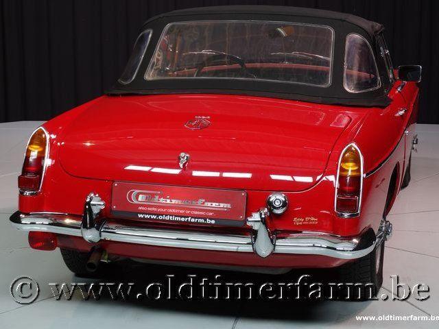 MG B Roadster Red '67 #228