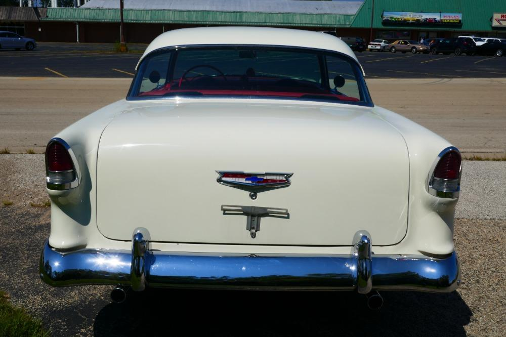 1955 Chevrolet Bel Air -BIG BLOCK-PERFECT COLOR COMBO-NEW ARRIVAL-SEE VIDEO Stock # 156NSC for sale near Mundelein, IL   IL Chevrolet Dealer #10