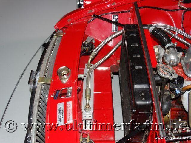 MG B Roadster Red '67 #176