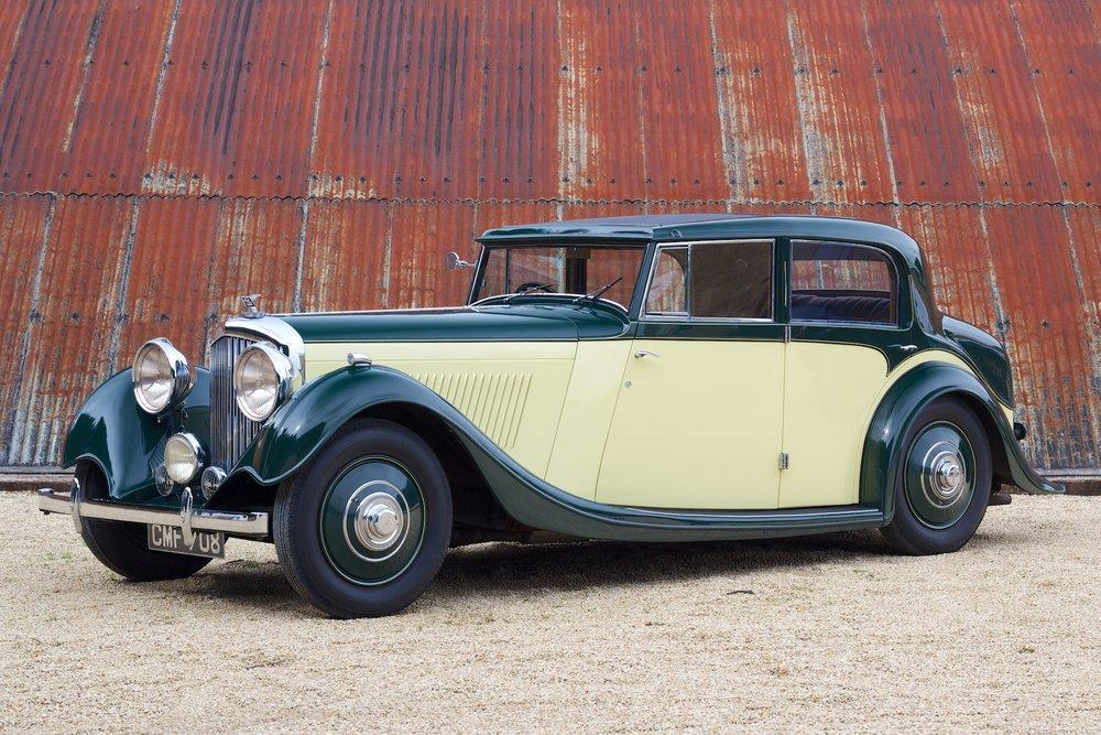 1935 Bentley 3½ Litre Saloon by Freestone & Webb #0