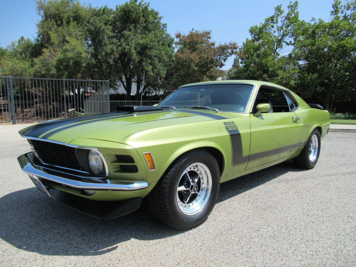 Ford Mustang Boss 302 1970 For Sale Gt