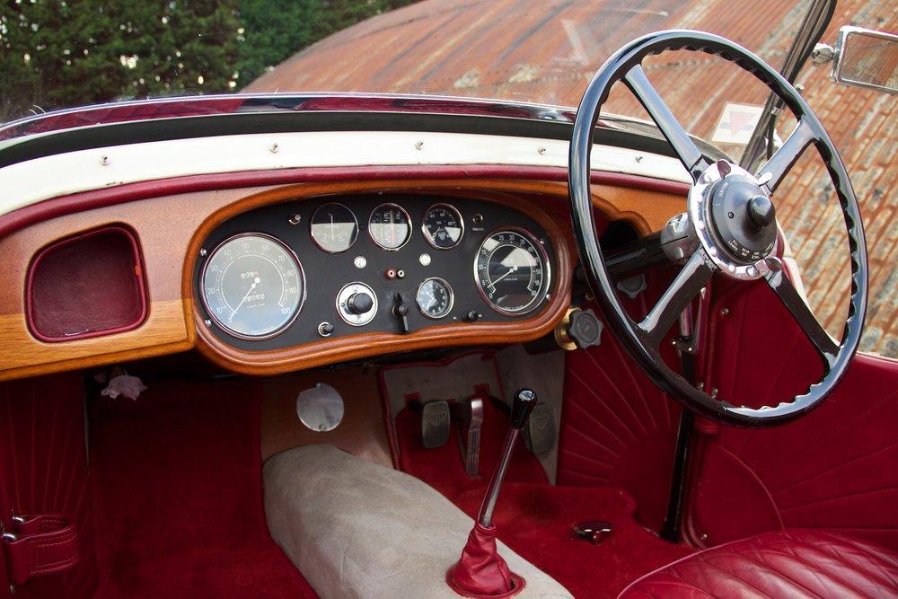 1932 Alvis Speed 20 SA 4-Door Tourer by Cross & Ellis #12