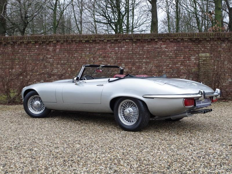 Jaguar E-type series 3 V12 convertible manual gearbox, with factory AC (1973) #8