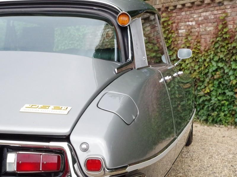 CITROËN DS21 PALLAS INJECTION WITH SUNROOF AND MANUAL GEARBOX! . (1970) #31