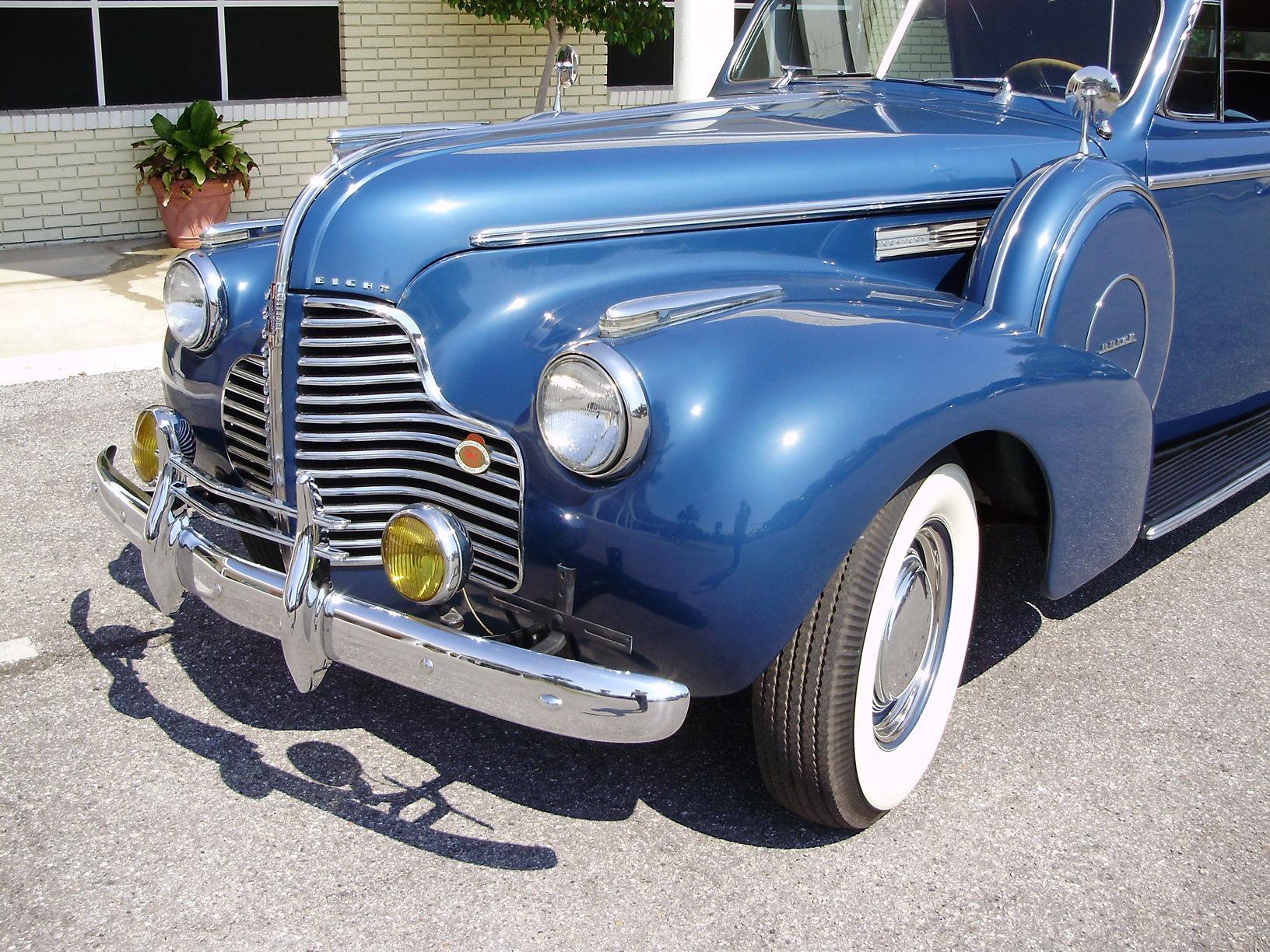 1940 BUICK CENTURY CONVERTIBLE SEDAN - Vintage Motors of Sarasota Inc. #19