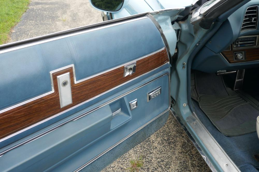 1975 Buick LeSabre -PRICE DROP - CONVERTIBLE -SUPER LOW MILES- NEW PAINT 2017-SEE VIDEO Stock # 75ILKF for sale near Mundelein, IL | IL Buick Dealer #36