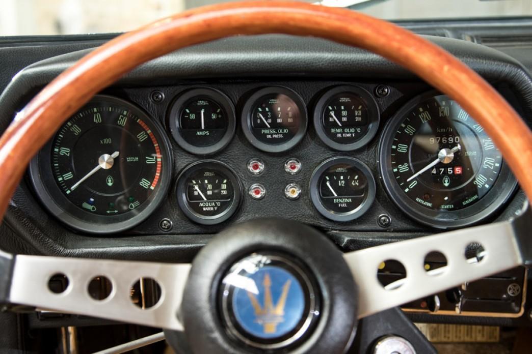 1970 Maserati Indy 4200 Coupe #9