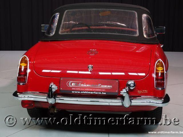 MG B Roadster Red '67 #226