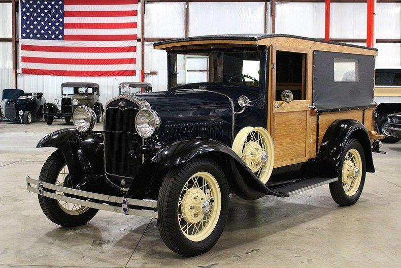 1931 Ford Model A Huckster #0