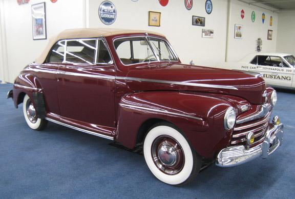1946 FORD SUPER DELUXE 8 CONVERTIBLE #8