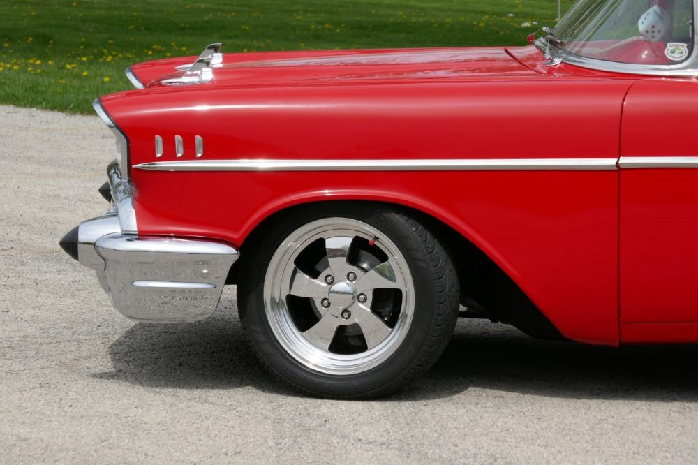 1957 Chevrolet 210 -HIGH END INVESTMENT-AMAZING PAINT AND QUALITY-TRI FIVE-NEW LOWERED PRICE - Stock # 57283CVJM for sale near Mundelein, IL | IL Chevrolet Dealer #17