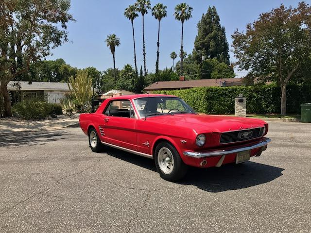 Ford-Mustang coupé red 1966 #33