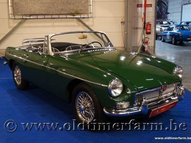 MG B Roadster Green '66 #0