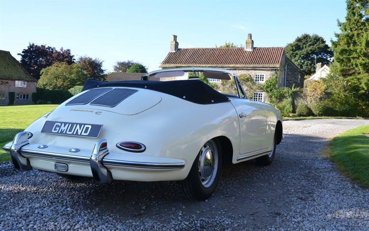 Porsche 356C Cabriolet #3