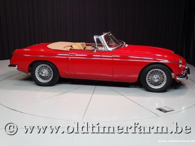 MG B Roadster Red '67 #39