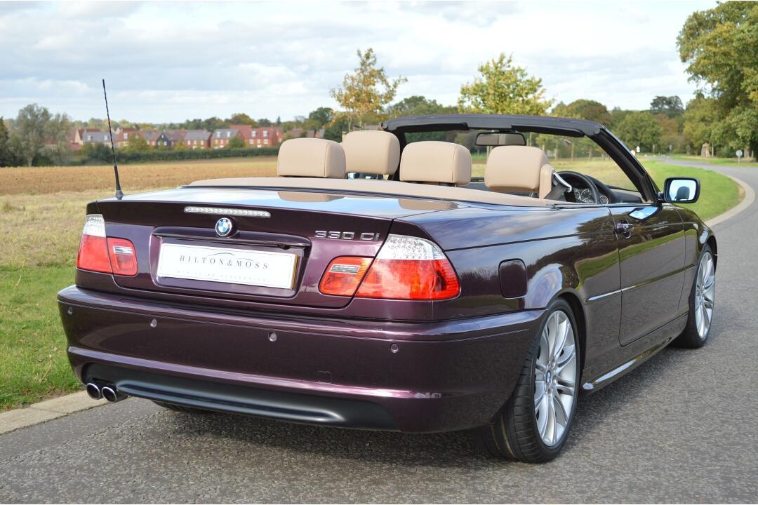BMW E46 330ci Cabriolet #4