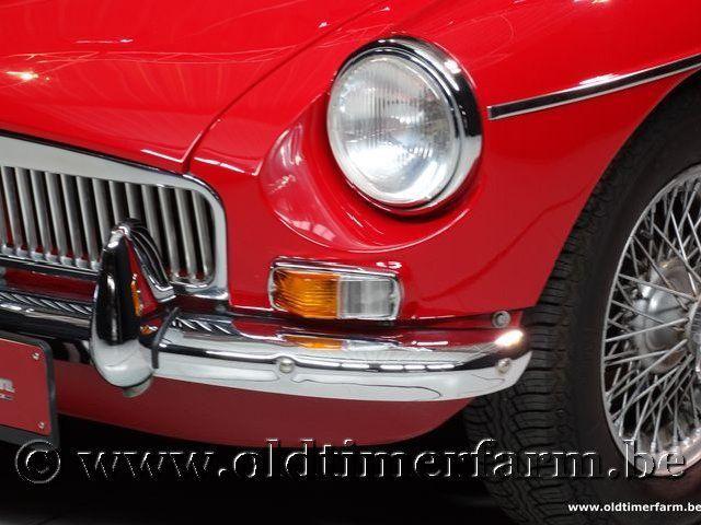 MG B Roadster Red '67 #124