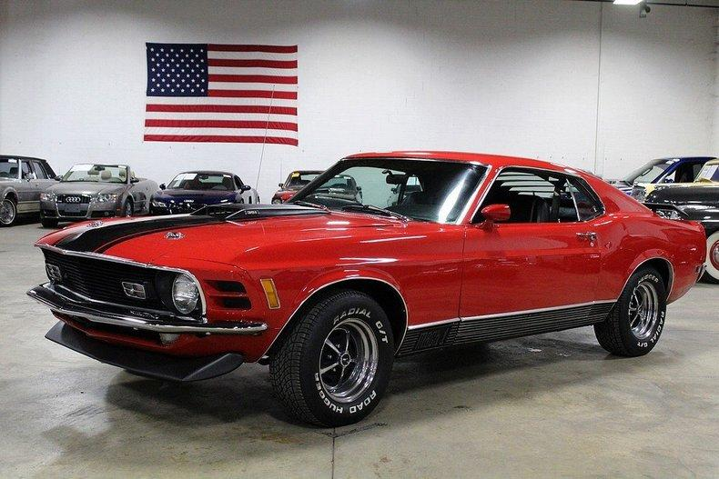 1970 Ford Mustang Mach 1 #0