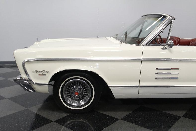 1966 Plymouth Sport Fury Convertible #10