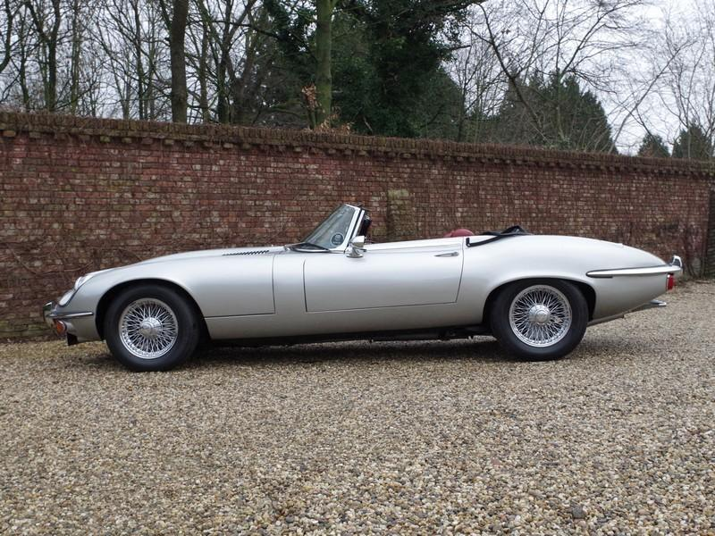 Jaguar E-type series 3 V12 convertible manual gearbox, with factory AC (1973) #23