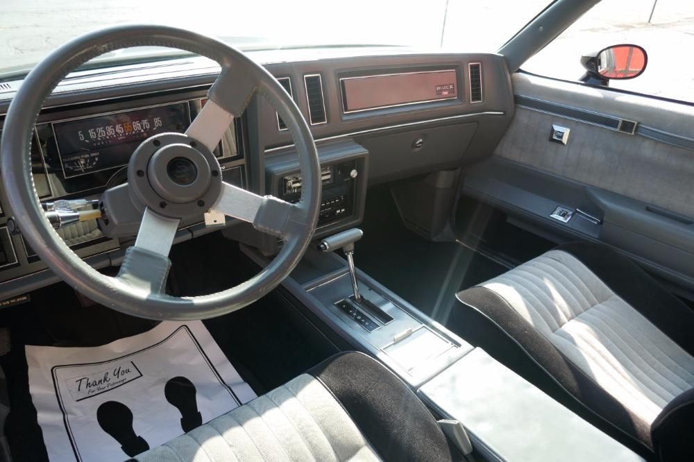 1987 Buick Grand National -ONE OWNER WITH 44k MILES -T-TOPS- SEE VIDEO Stock # 3887JC for sale near Mundelein, IL | IL Buick Dealer #17