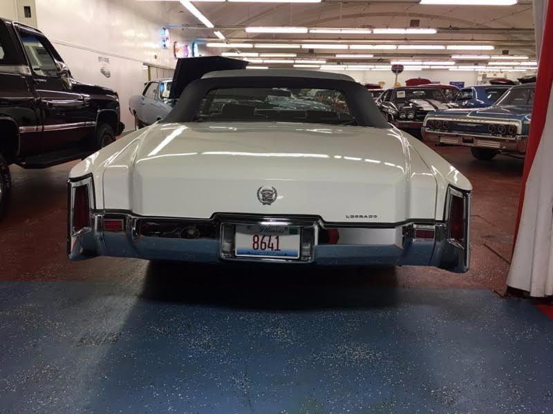 1971 Cadillac El Dorado Classic Caddy Convertible Stock # 18571JSCVO for sale near Mundelein, IL | IL Cadillac Dealer #26