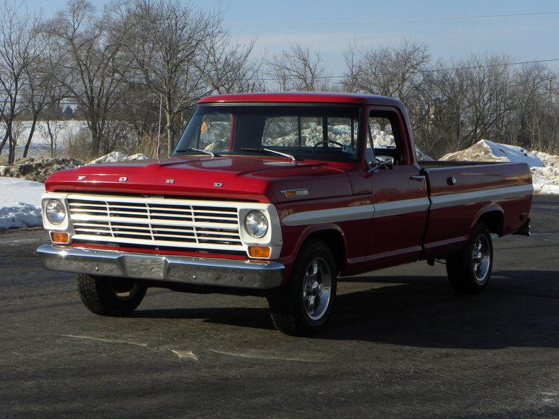 1969 Ford F100 Deluxe Styleside Pickup #0