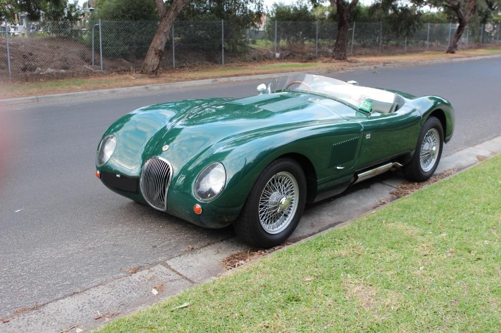 """Jaguar """"C"""" Type replica #3"""