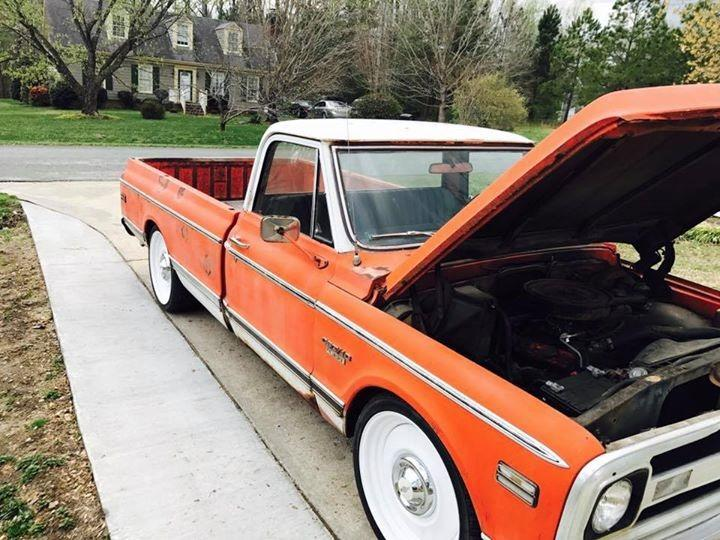 1970 Chevrolet C10 -PATINA PICKUP- CUSTOM SPORTS TRUCK- Stock # 10434NC for sale near Mundelein, IL | IL Chevrolet Dealer #8