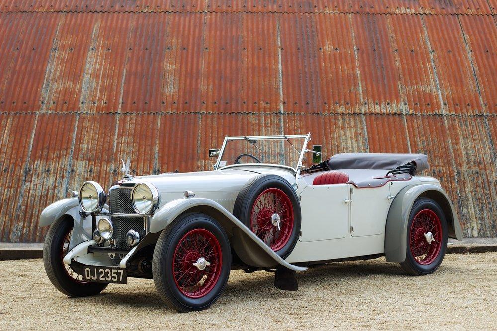1932 Alvis Speed 20 SA 4-Door Tourer by Cross & Ellis #0